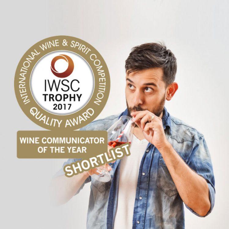 Nominado como Wine Communicator of the Year 2017