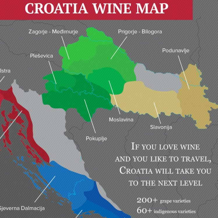 Los vinos de Croacia