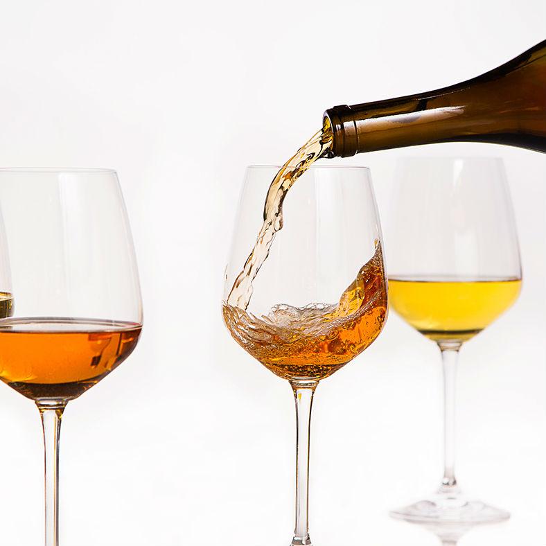 ¿Un vino… naranja?