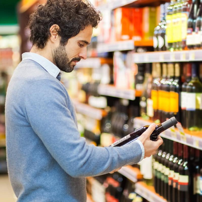 Qué te dice la botella del vino, antes de abrirlo